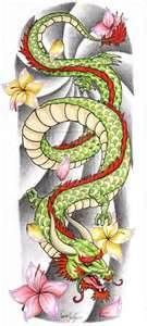 Chinese Dragon Tattoo Sleeve By The Blackwolf On DeviantART