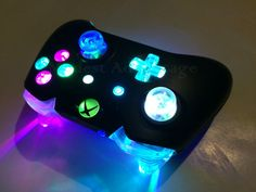 xbox Xbox One Controller Full color changing LED mod by abxymods Video Game Rooms, Video Games Xbox, Xbox One Games, Xbox One Controller, Xbox Xbox, Consola Nintendo Wii, Control Xbox, Manette Xbox One, Consoles