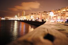 I live here 2nd Kordon. Alsancak.     Seaside to Alsancak