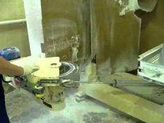 Вакуум-формовочная машина для производства акриловых ванн. - YouTube