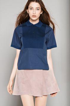 Lacoste Fashion Show Short Sleeve Cotton Poplin Polo : Fashion Show