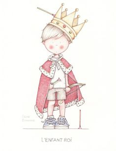 Hand-drawn illustration little prince PNG and Clipart Illustration Mignonne, Children's Book Illustration, Cute Images, Cute Pictures, Art Fantaisiste, Art Mignon, The Little Prince, Whimsical Art, Penny Black
