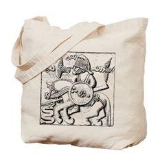 Vendel Warrior Tote Bag