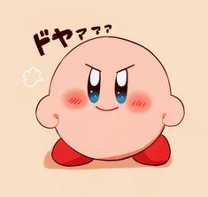 Kirby, let's do this! Nintendo Characters, Chibi Characters, Cute Characters, Kawaii Chibi, Kawaii Cute, Pokemon, Cartoon Games, Cute Cartoon, Kirby Character