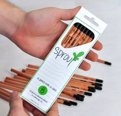 Plantable Pencils -- great teacher wish list item (so cool on so many levels!) When Sprout™ is too short to use, you can plant it to grow herbs, flowers, and vegetables! And you are supporting the Kids in Need Foundation when you purchase their back-to-school Plant the Rainbow pack!