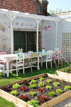What's the point of having a backyard if you're not going to use it to entertain? ...or garden? :)