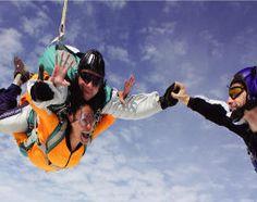 Fallschirm-Tandemsprung in Grefrath