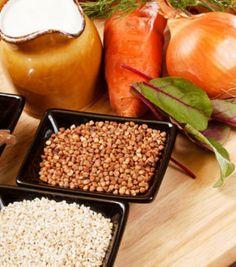 Lentils with buckwheat recipe
