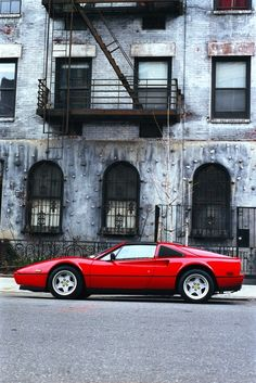 #308 GTS - Ferrari - I just love the styling of these.