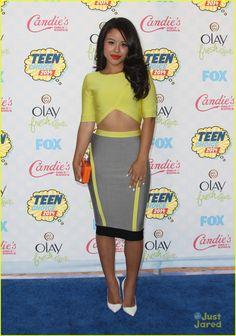Cierra Ramirez at the Teen Choice Awards 2014