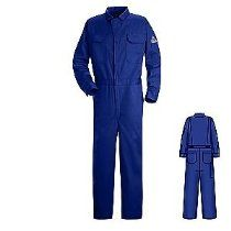 Bulwark CED2RB Deluxe Contractor Coverall, Royal Blue, Size 48, Long