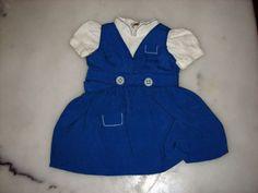 AUTHENTIC-CLOTHING-G-LANGUEREAU-TRIO-1955-DE-LA-DOLL-BLEUETTE