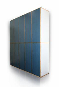 Gio Ponti; Maple Veneer and Formica Cabinet by DASSI for Parco dei Principi Hotel, 1960.