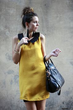 Outfit of the day: black and yellow, yellow and black | Irene's Closet - Fashion blogger outfit e streetstyle