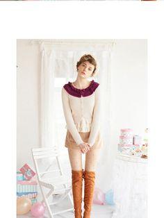 sweet dreams petite cardigan $48 #asianicandy #sweet #asianfashion #japanese #kawaii #indiefashion #pastel