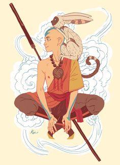 avatar the last airbender aang art Avatar Airbender, Avatar Aang, Team Avatar, Aang The Last Airbender, Avatar Legend Of Aang, Zuko, Sara Kipin, Fanart, Avatar Series