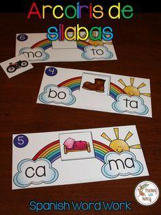 Actividad para aprender a combinar sílabas y formar palabras.