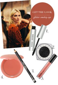 Get The Look: Glitter Smokey Eye
