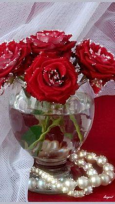 Цветы и жемчуг