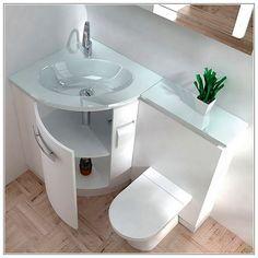Modern Bathroom Sink In Corner Unit Google Search