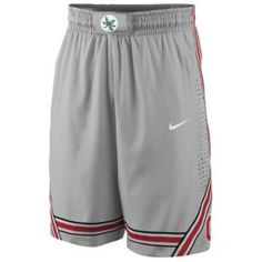 Nike College Authentic On Court Short - Men's - Ohio State Buckeyes -  Pewter Grey xxl