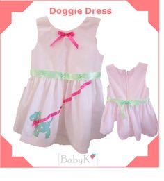 BabyK designs made for girls Dog Dresses, Custom Made, Summer Dresses, Girls, Color, Outfits, Fashion, Toddler Girls, Colour