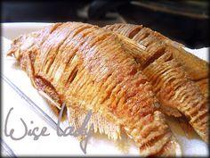 Sült keszeg - Anya főztje Pork, Cooking Recipes, Fish, Foods, Drinks, Kale Stir Fry, Food Food, Drinking, Food Items