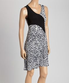 Look what I found on #zulily! Leopard Sheath Dress - Women & Plus #zulilyfinds