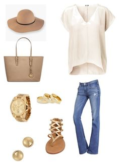 Day date by jbanna on Polyvore featuring polyvore, fashion, style, Express, Dollhouse, MICHAEL Michael Kors, Michael Kors, Marc by Marc Jacobs, Sole Society and Levi's