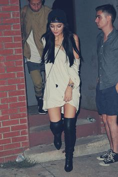Kylie J's outfit right here is something i can see my self wearing.. LOVE LOVE LOVE !!