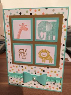Kinderkarte Stampin up