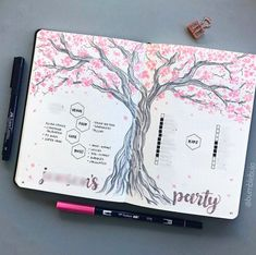 Pink Bullet Journal Spreads To Inspire You