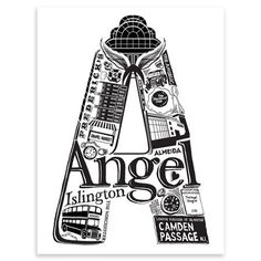 Lucy Loves This - Best Of Angel, Screen-print, 21 x 30 cm