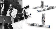 Conheça a coleção de canetas Great Characters da Montblanc, que chega este mês ao Brasil em três modelos com edição limitada, em homenagem à lenda do jazz Miles Davis.   #colecionismo #montblanc #canetas #luxo #lifestyle #milesdavis