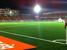 A partir de las 7:45 p.m estaremos por los 93.5 FM de Deportes Monumental y Canal 2 Costa Rica con el juego #LDA vrs #Belén, los esperamos:
