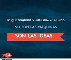 Las ideas tienen el poder ;) #frases #frasesmotivacion #ideas #emprendedores #marketingdigital Marketing Digital, Words, Instagram Posts, Ideas, Frases, Happy Tuesday, Quote Of The Day, Thoughts, Horse