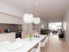Long kitchen. Danish.