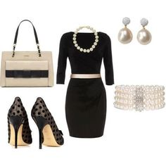 Classy outfit, sassy shoes! Love it!