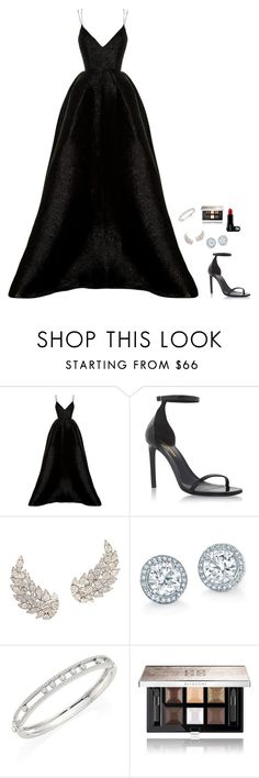 """Untitled #1090"" by h1234l on Polyvore featuring Alex Perry, Yves Saint Laurent, Messika and Givenchy"