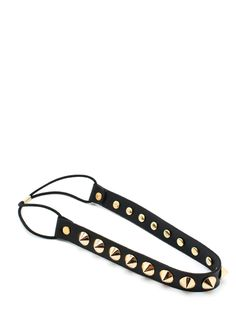 leather spike stud headband $33.40