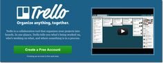 Trello is a tool for organizing collaborative projects. Once you create an account on Trello, you have the ability to create boards, lists and cards to organize your projects.