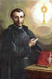 """St. Francis Caracciolo, Founded the Congregation of the Minor Clerks Regular (the """"Adorno Fathers""""), is both contemplative and active. Perpetual adoration of the Blessed Sacrament is one of the pillars of their life. To the three usual vows a fourth is added, namely, that its members must not aspire to ecclesiastical dignities outside the order nor seek them within it"""