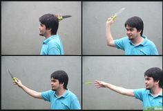3 Ways to Throw a Knife Without It Spinning - wikiHow