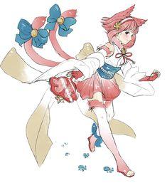 Sakura, The Nekomata! (Fire Emblem Heroes)