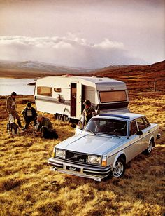 Volvo... Still hate caravans though!