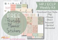 Sometimes, regardless of the time of year, colors just speak to me. I design and create stickers for me – ones that I want to use. I also make them available to my planner friends like you &#…