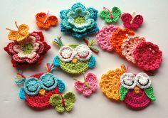 Renkli çiçek motifleri
