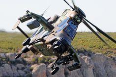 Hélicoptère d'attaque Tigre HAD de l'ALAT française