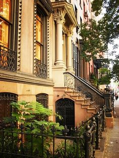 Urban Brownstones