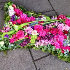 Funeral flowers - pillow